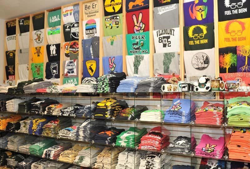 Lovermont802 t-shirts at CityPlace Burlington