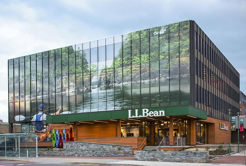 L.L.Bean exterior at CityPlace Burlington