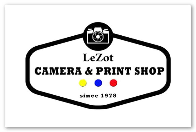 Logo for LeZot Camera Shop at CityPlace Burlington