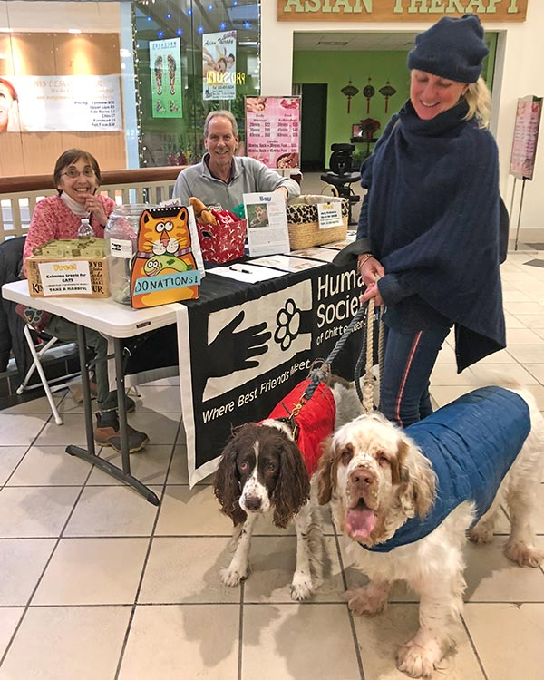 Humane Society of Chittenden County event volunteers
