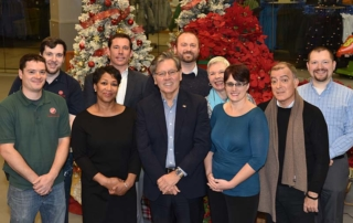 The staff at CityPlace Burlington