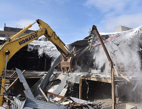City Place Burlington – Demolition and Construction
